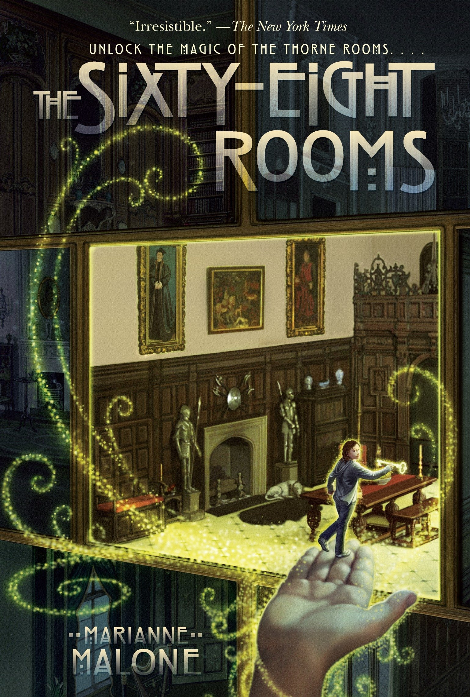 Cover of the sixty-eight rooms by Marianne Malone